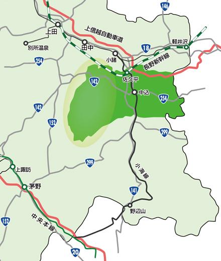 佐久市 望月地域の概要